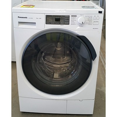 Panasonic 10kg Heavy Duty Front Loader Washing Machine