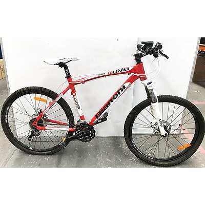 Bianchi 5100 Kuma 27 Speed Mountain Bike & 4 Brand New Tyres