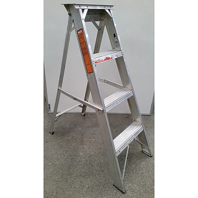 Mote 1.2 Meter Aluminium Step Ladder