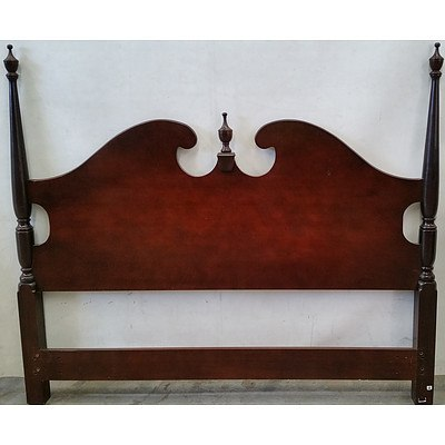 Drexel Heritage Queen Bed Headboard and Four Single Headbpards
