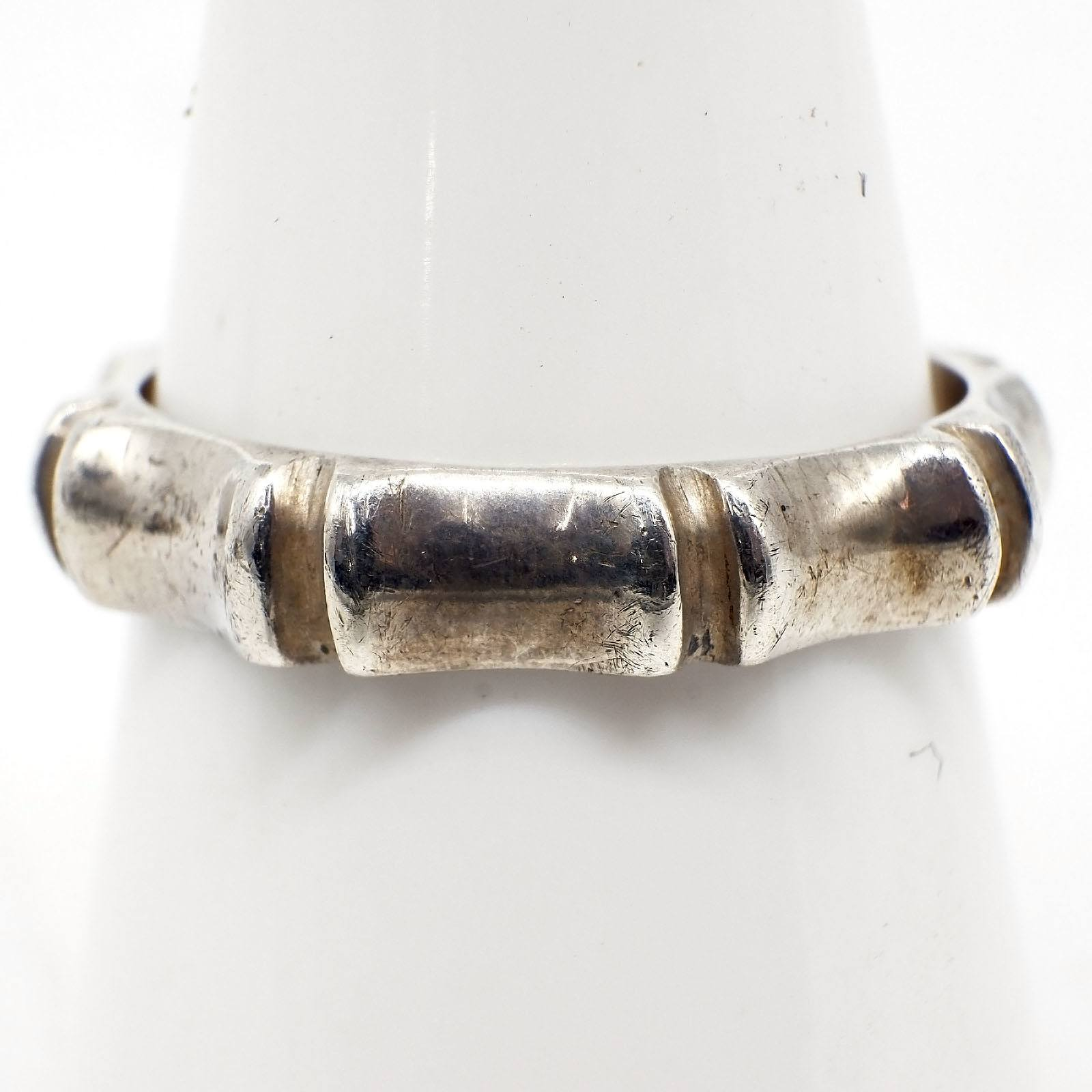 'Sterling Silver Fancy Band Ring'