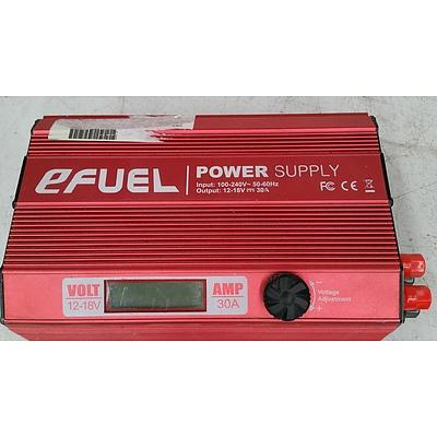 Red E-Fuel DC/USB Power Supply