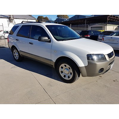 5/2007 Ford Territory TX (rwd) SY MY07 UPGRADE 4d Wagon White 4.0L