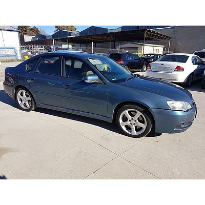 10/2004 Subaru Liberty 3.0R MY05 4d Sedan Blue 3.0L