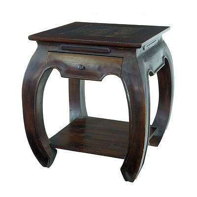 Contemporary Asian Lamp Table