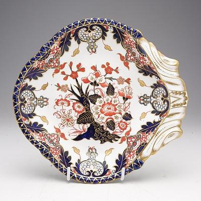 Victorian Derby Kings Imari Pattern Dish Circa 1888