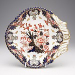 Victorian Derby Kings Imari Pattern Dish Circa 1888