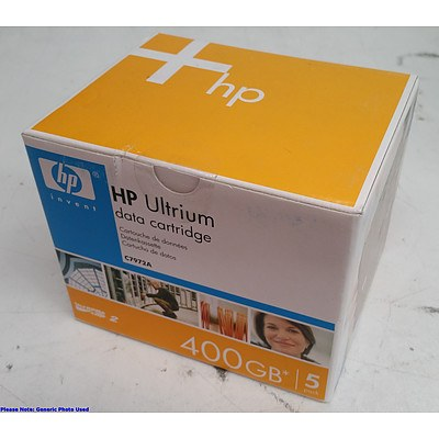 HP (C7972A) Ultrium LTO-2 400GB Data Cartridges - Lot of Twenty *BRAND NEW