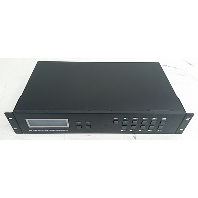 Cypress (CMSI-8H8CVE) 8x8 HDMI Matrix over CAT5e/6 Appliance