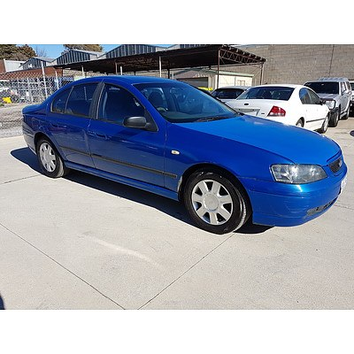3/2005 Ford Falcon XT BA MKII 4d Sedan Blue 4.0L