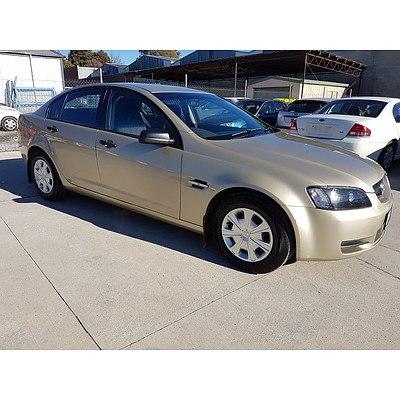 10/2007 Holden Commodore Omega VE 4d Sedan Gold 3.6L