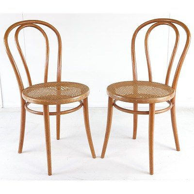 Pair of Antique Bentwood Chairs