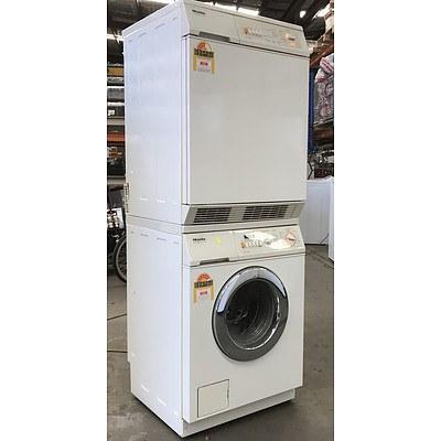 Miele 5kg Front-Loader Washing Machine & Miele 5kg Front-Loader Dryer