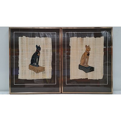 Egyptian Papyrus Artworks From The Papyrus Institute Egypt Giza