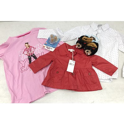 Bulk Lot of Brand New Kids Clothing & Accessories - RRP Over $600