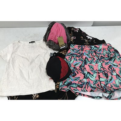 Bulk Lot of Brand New Women's Clothing & Accessories - RRP Over $900