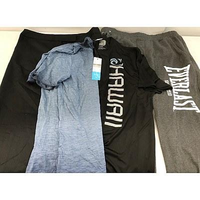 Bulk Lot of Brand New Men's Clothing - RRP Over $800