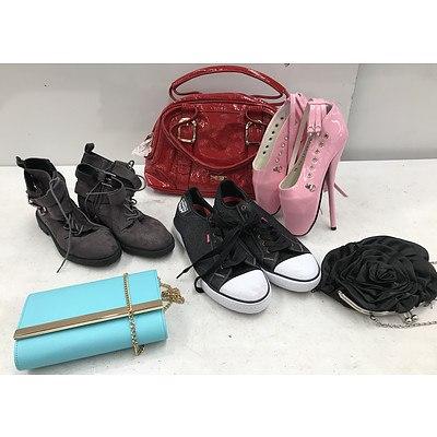 Bulk Lot of Brand New Shoes, Handbags & Purses - RRP Over $600