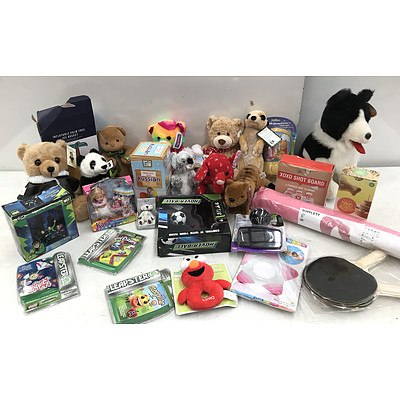 Bulk Lot of Games & Toys - RRP Over $200