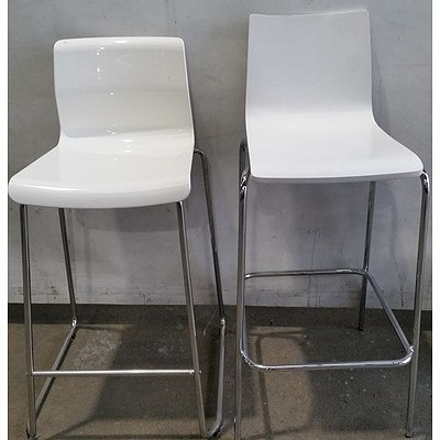 Contemporary Stools - Lot of Two