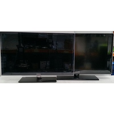 Soniq and Samsung Flatscreen Televisions - Lot of Three
