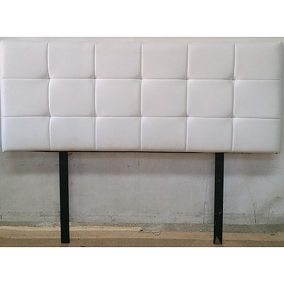 Contemporary Double Bed Headboard