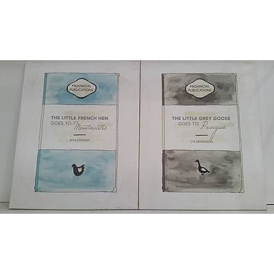 Stretched Canvas Prints - Lot of Two
