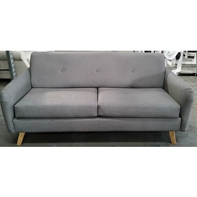 Contemporary Two and Half Seater Sofa