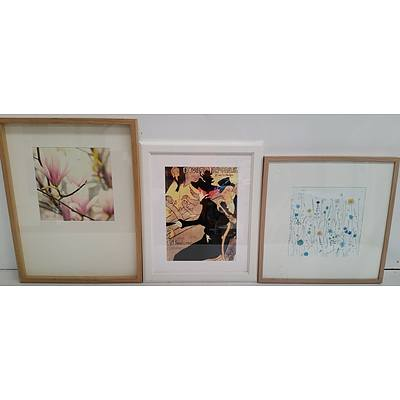 Framed Prints - Lot of Three