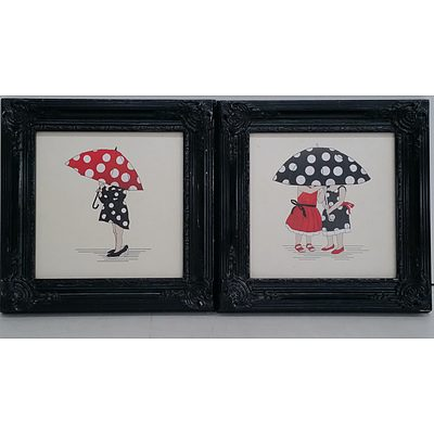 Framed Prints - Lot of Two