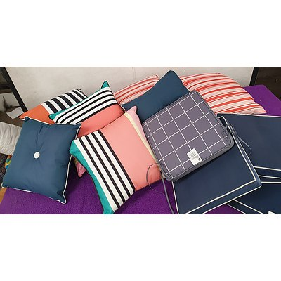 Selection of Outdoor Furniture Cushions - Lot of 11