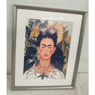Framed Frida Kahlo Print