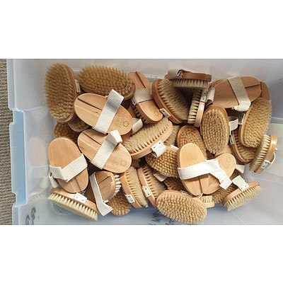 Dry Body Brushes  - Lot of 24 - New