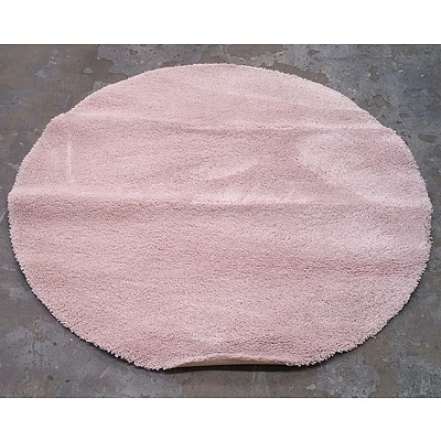 Modern Pink Shag Rug