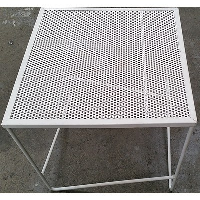 Contemporary Outdoor Occasional Table