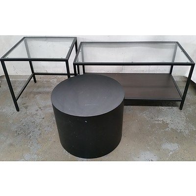 Contemporary Occasional/Coffee Tables - Lot of Four