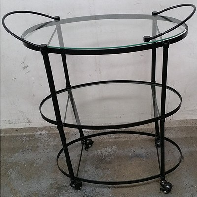 Contemporary Serving Trolley