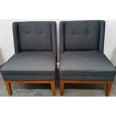 Contemporary Occasional Chairs - Lot of Two