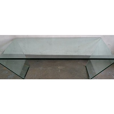 Brent Glass Coffee Table
