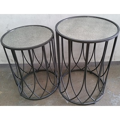 Contemporary Occasional Tables - Lot of Two