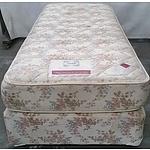 King Single Ensemble Bed and Mattress