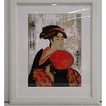 Framed Oriental Print