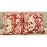 Florence Broadhurst Cushions (large) - Lot of Two
