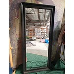 Large Framed Floor Mirror