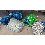 Large Storage Bags - Lot of 12