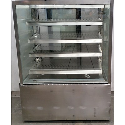 Stainless Steel Hot Pastry Showcase Unit