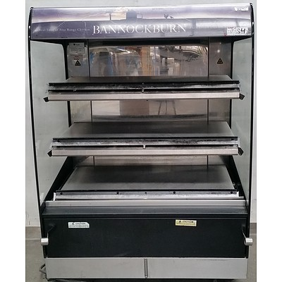 Fri-Jado Open Front Hot Food/Poultry Display Unit