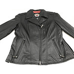 Harley Davidson Black Leather Large Jacket - Brand New