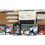Over 400 DVD & Blu-Ray Movies & TV Series