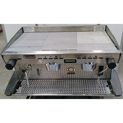 Rancilio Two Group Head Coffee Machine